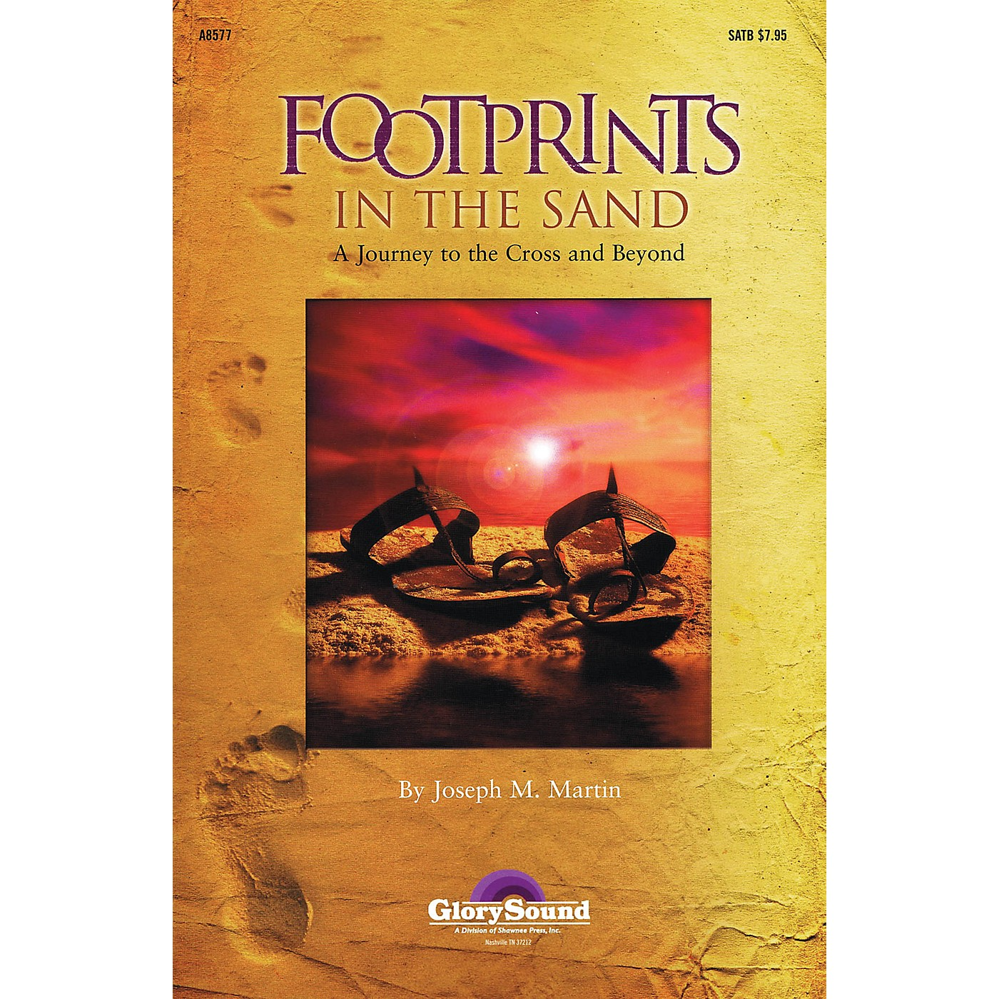 Shawnee Press Footprints in the Sand (Listening CD) Listening CD Composed by Joseph Martin thumbnail