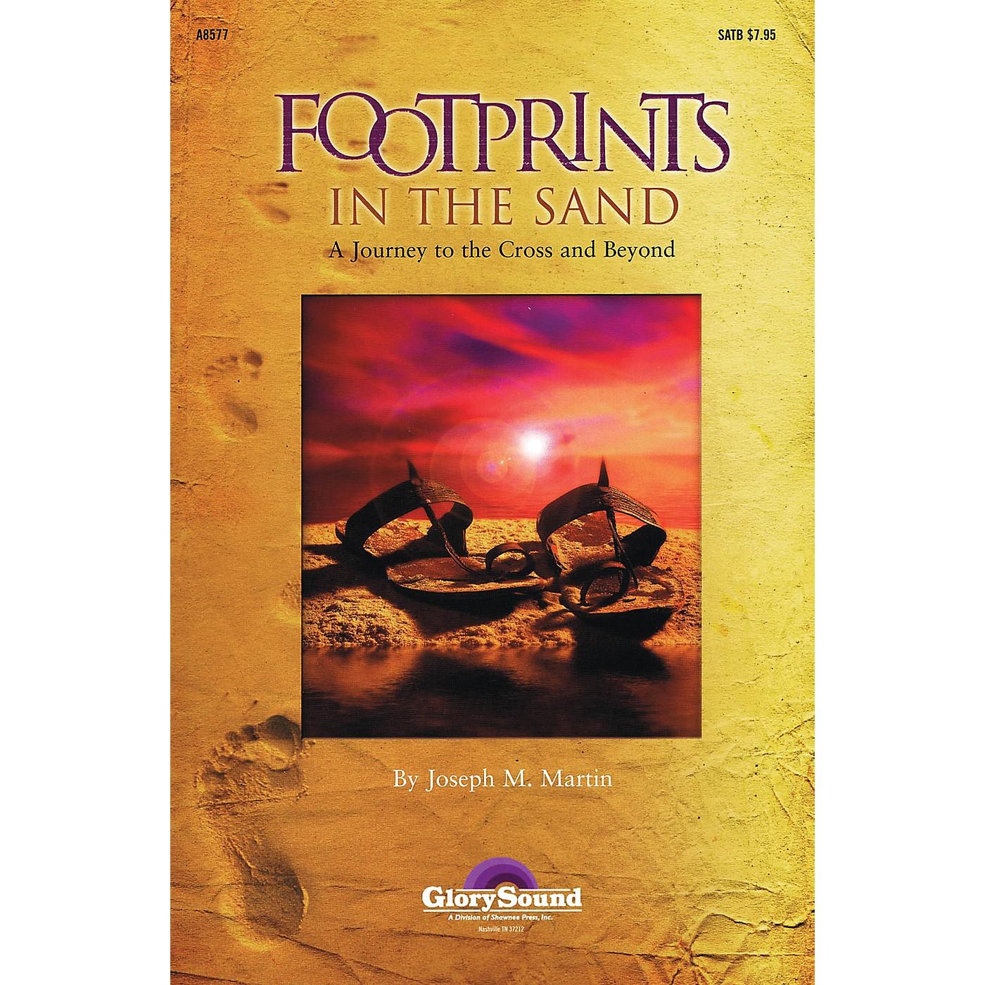 Shawnee Press Footprints in the Sand (SATB) SATB composed by Joseph Martin thumbnail