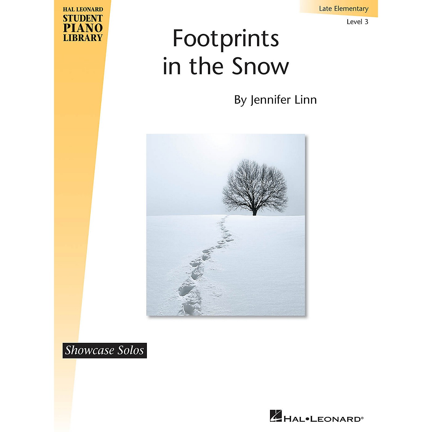 Hal Leonard Footprints in the Snow Piano Library Series by Jennifer Linn (Level Late Elem) thumbnail