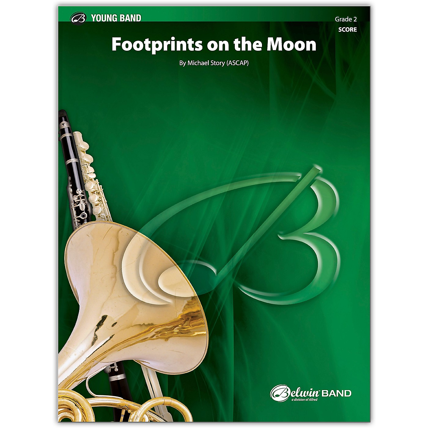 BELWIN Footprints on the Moon Conductor Score 2 (Easy) thumbnail