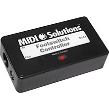 MIDI Solutions Footswitch Controller