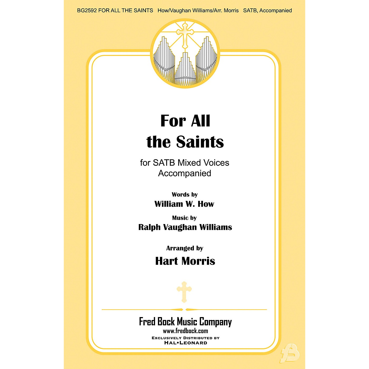 Fred Bock Music For All the Saints SATB arranged by Hart Morris thumbnail