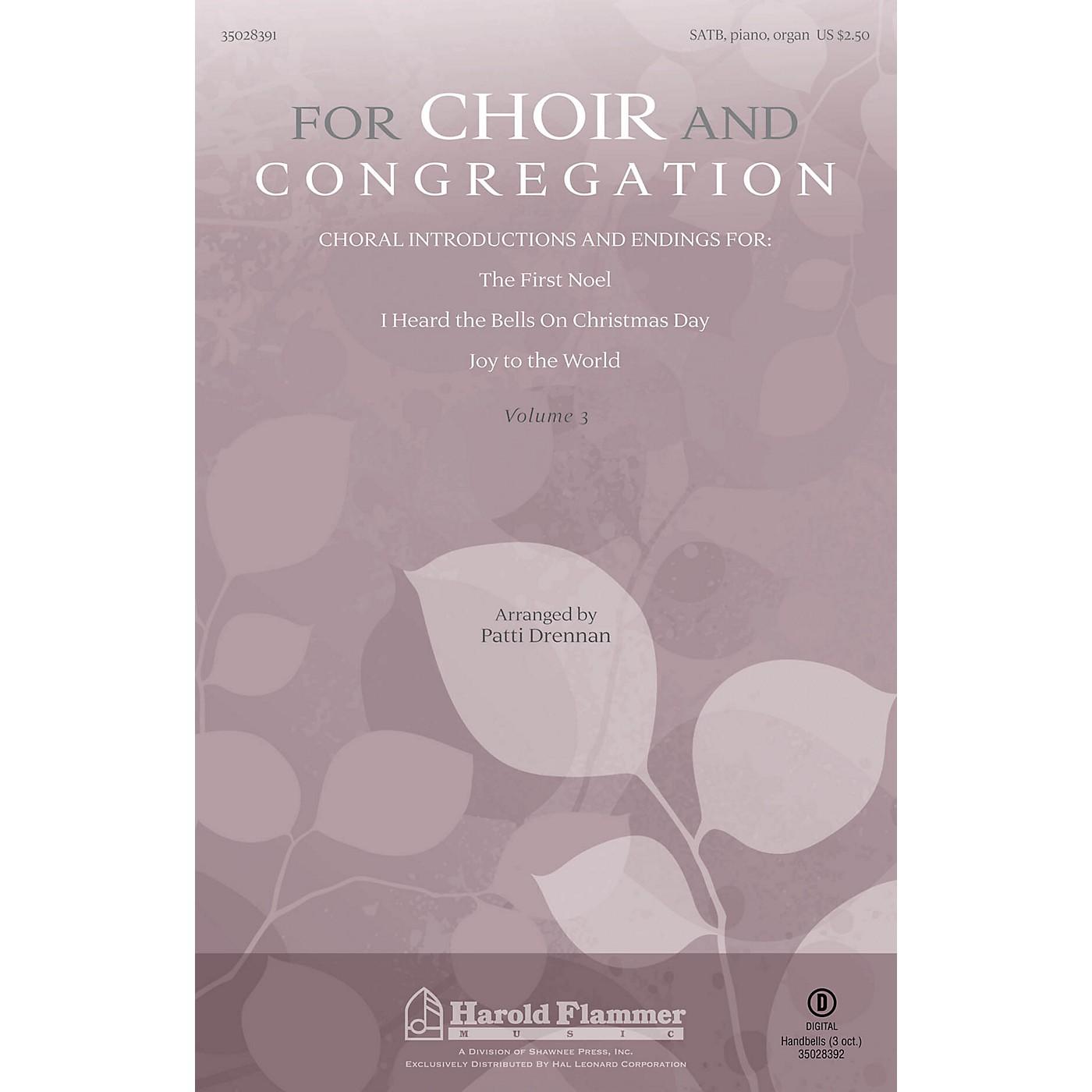 Shawnee Press For Choir and Congregation, Vol. 3 SATB, PIANO AND ORGAN arranged by Patti Drennan thumbnail
