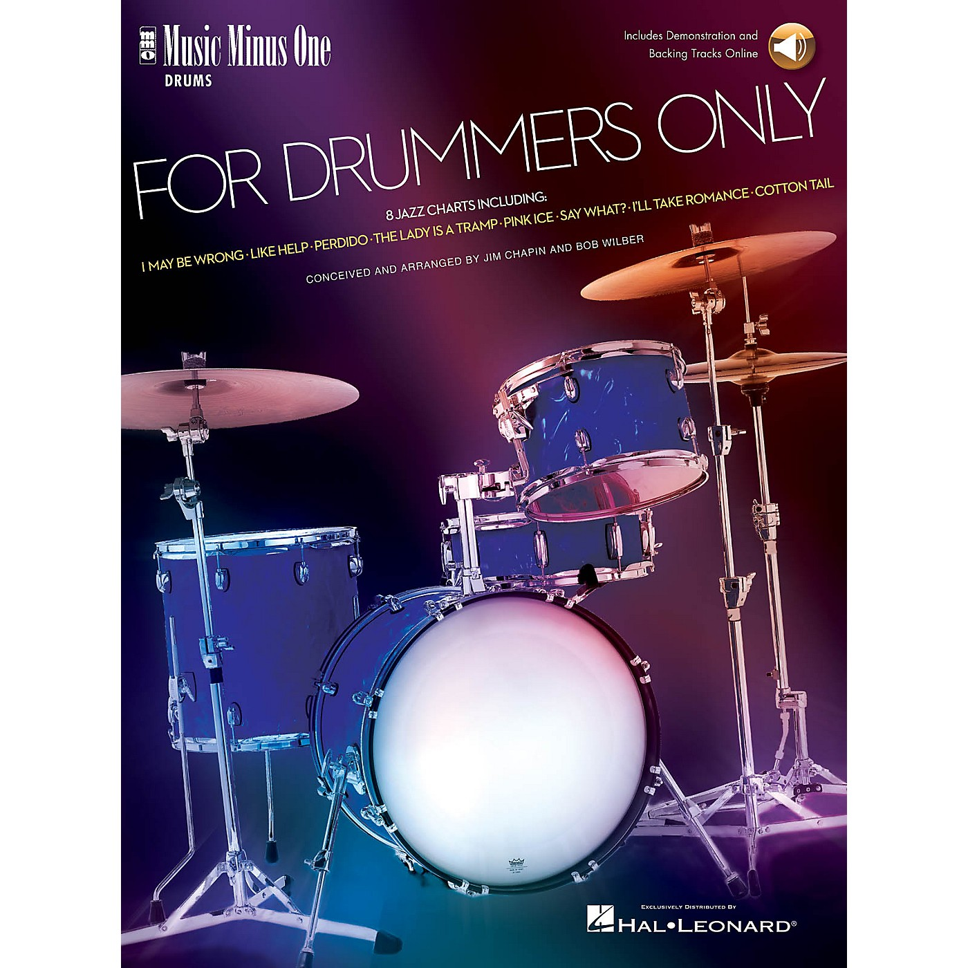 Music Minus One For Drummers Only (Jazz Band Music Minus One Drummer) Music Minus One Series Softcover with CD thumbnail