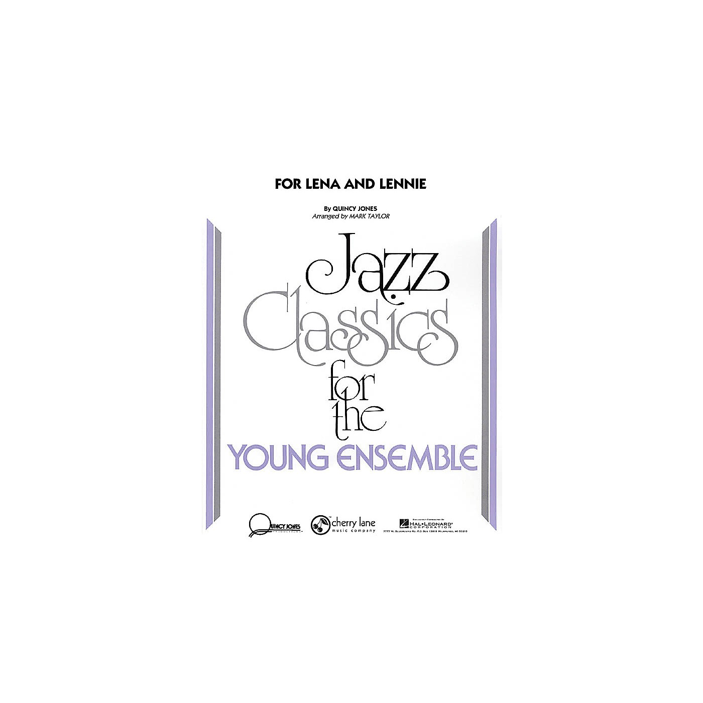 Cherry Lane For Lena and Lennie Jazz Band Level 3 Arranged by Mark Taylor thumbnail