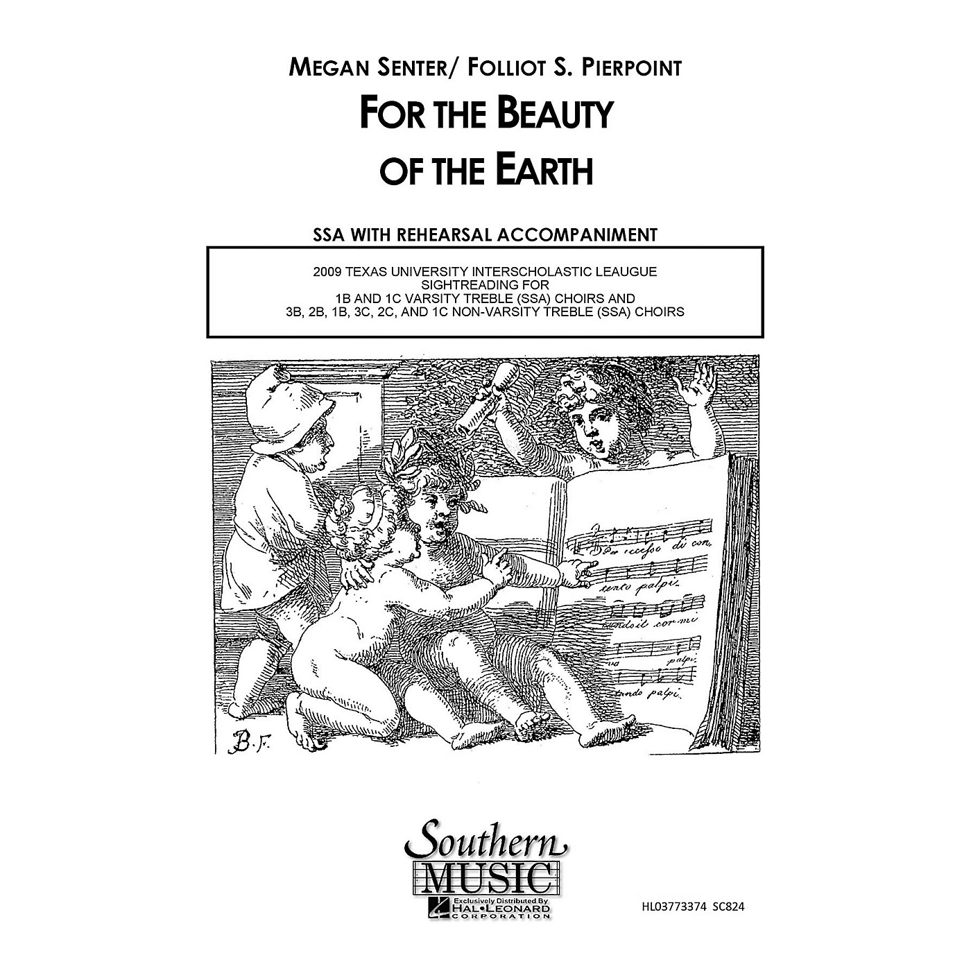 Hal Leonard For the Beauty of the Earth (Choral Music/Octavo Secular Ssa) SSA Composed by Senter, Megan thumbnail