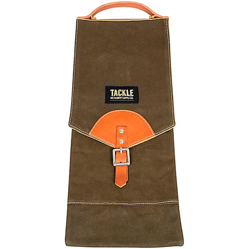 Tackle Instrument Supply Forest Green Waxed Canvas Compact Stick Bag thumbnail