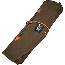 Tackle Instrument Supply Forest Green Waxed Canvas Roll Up Stick Bag