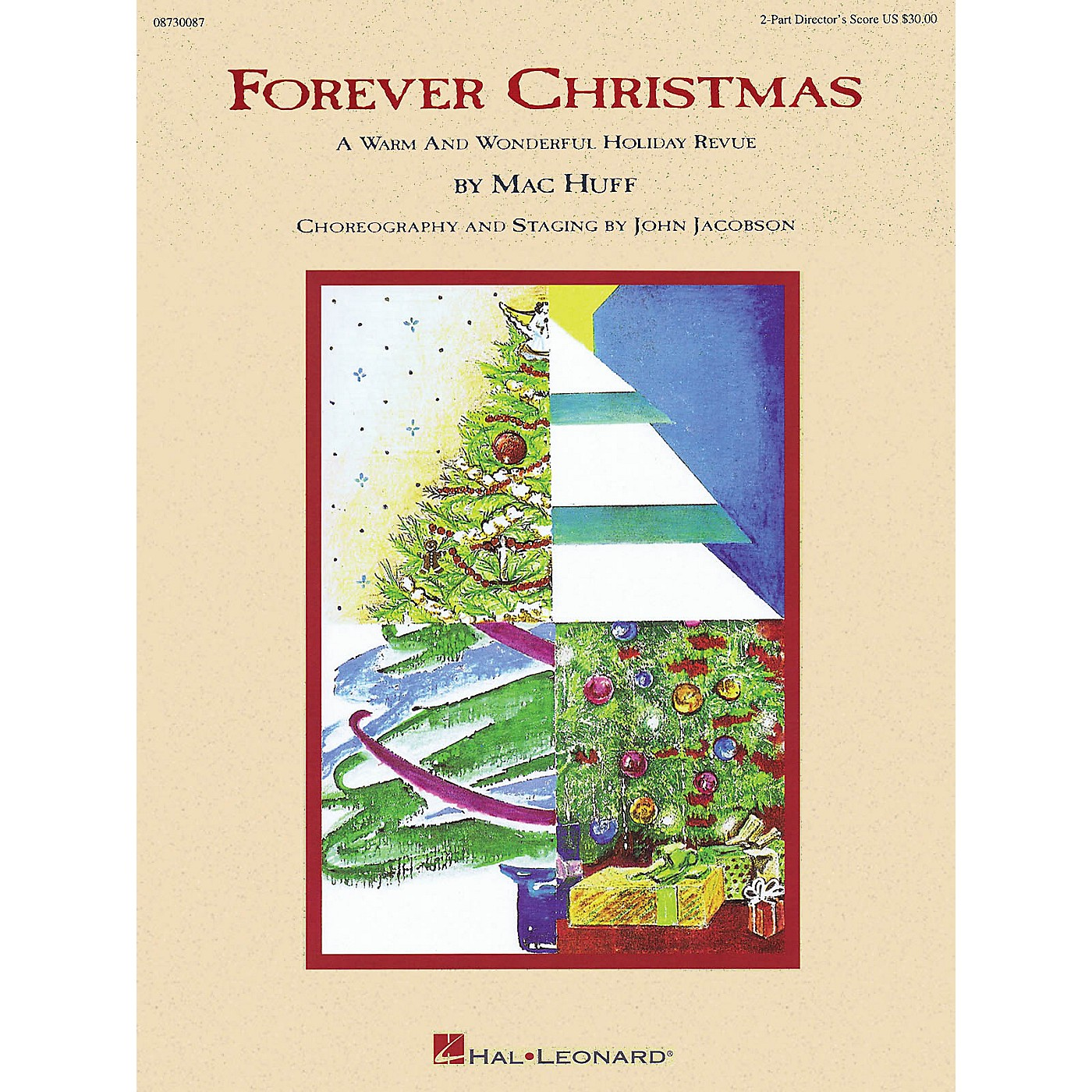 Hal Leonard Forever Christmas (Holiday Revue) 2-Part Score arranged by Mac Huff thumbnail