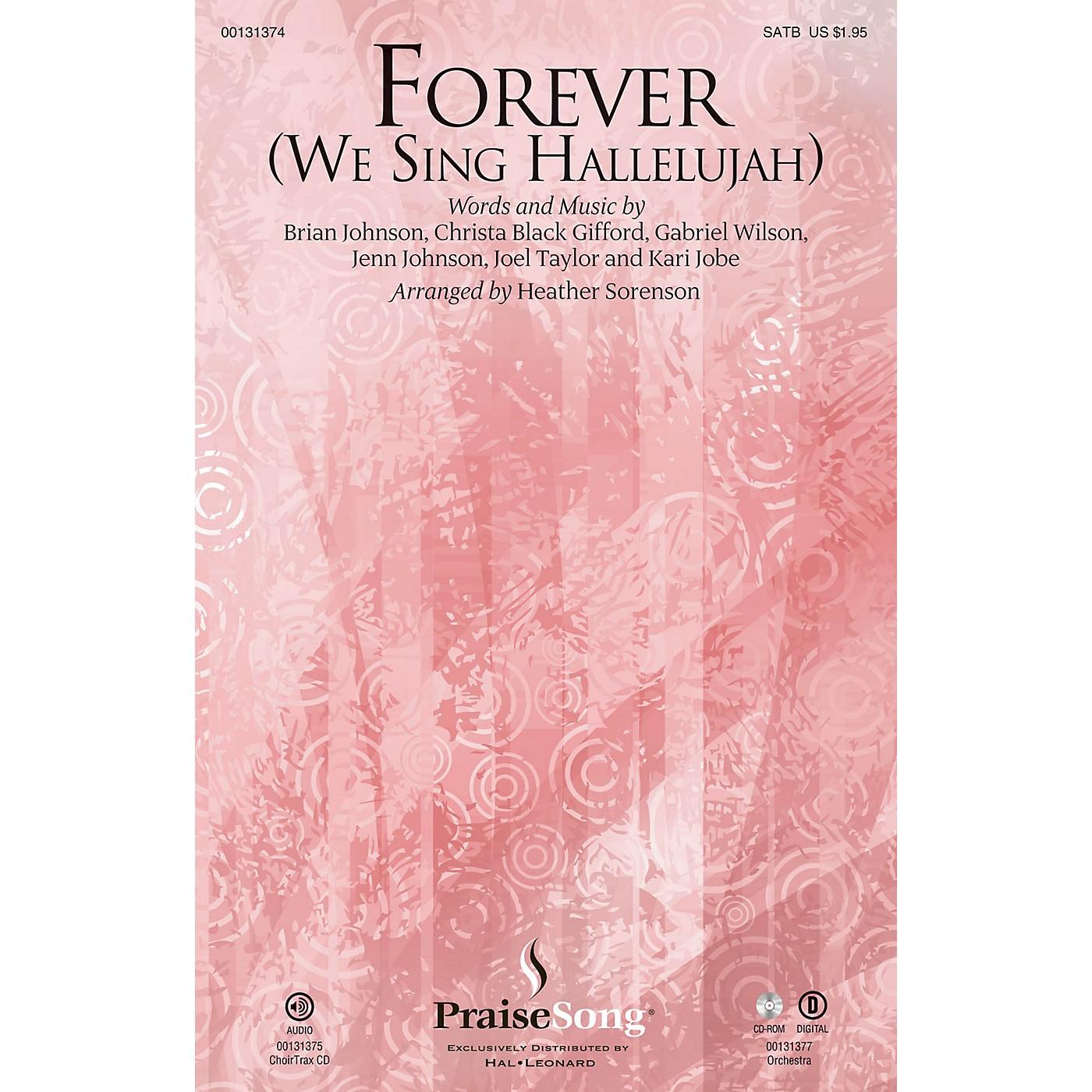 PraiseSong Forever (We Sing Hallelujah) SATB by Kari Jobe arranged by Heather Sorenson thumbnail