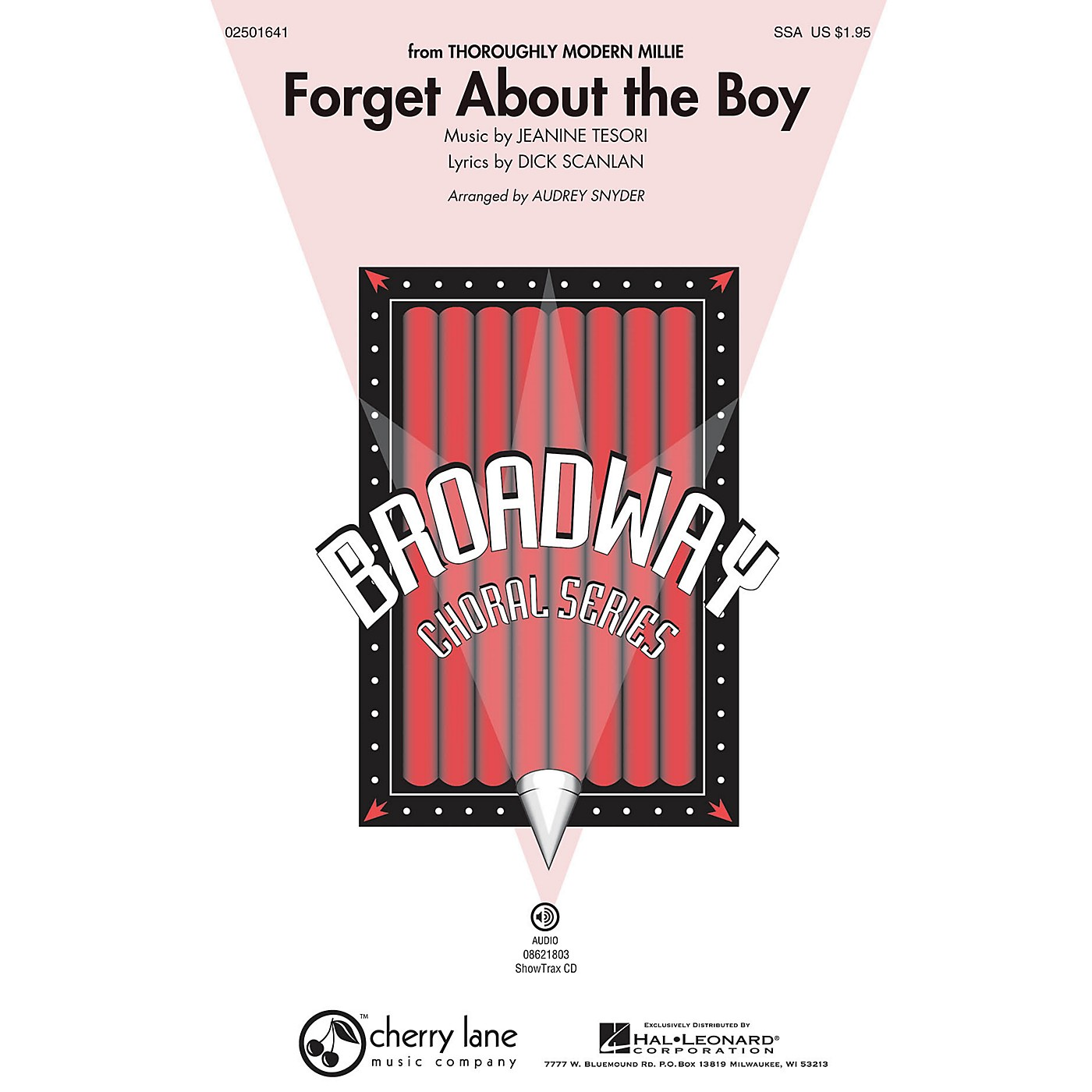 Cherry Lane Forget About the Boy (from Thoroughly Modern Millie) SSA arranged by Audrey Snyder thumbnail