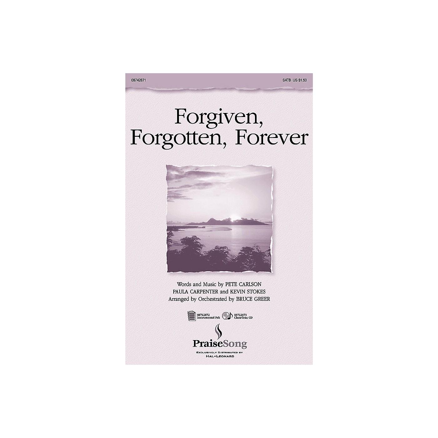 PraiseSong Forgiven, Forgotten, Forever IPAKO Arranged by Russell Mauldin thumbnail