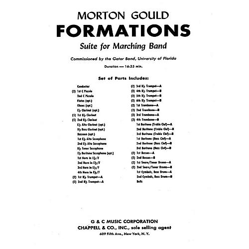 G. Schirmer Formations (Study Score) Concert Band Composed by Morton Gould thumbnail
