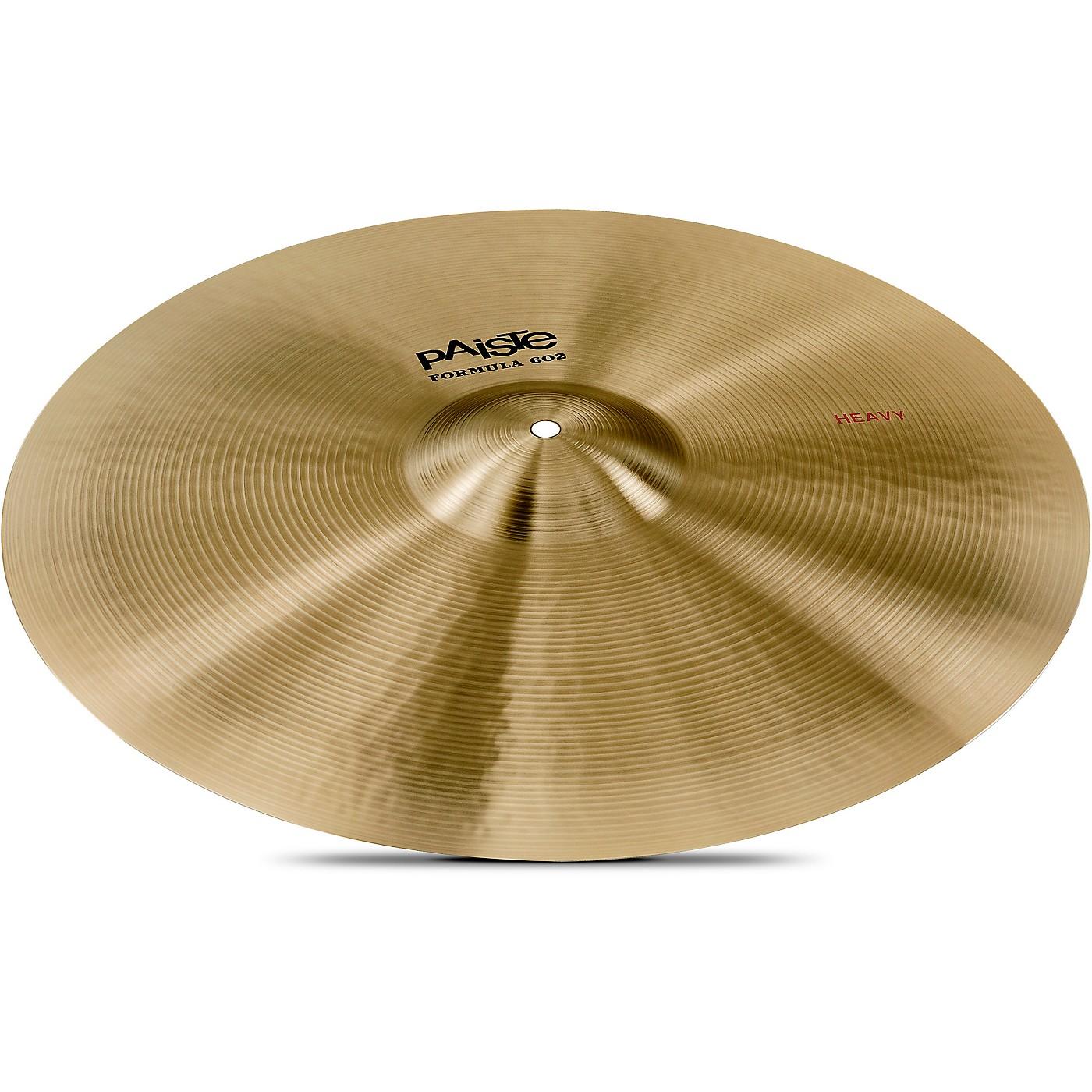 Paiste Formula 602 Heavy Crash Cymbal thumbnail