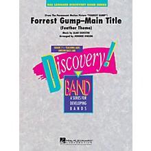 Hal Leonard Forrest Gump - Main Title Concert Band Level 1.5 Arranged by Johnnie Vinson