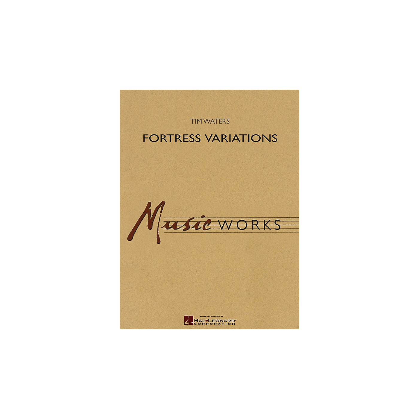 Hal Leonard Fortress Variations Concert Band Level 4 Composed by Tim Waters thumbnail
