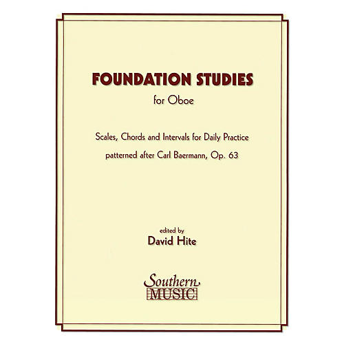 Southern Foundation Studies (Oboe) Southern Music Series Arranged by David Hite thumbnail
