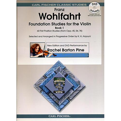 Carl Fischer Foundation Studies for Violin Book 1 (Book + DVD)-thumbnail