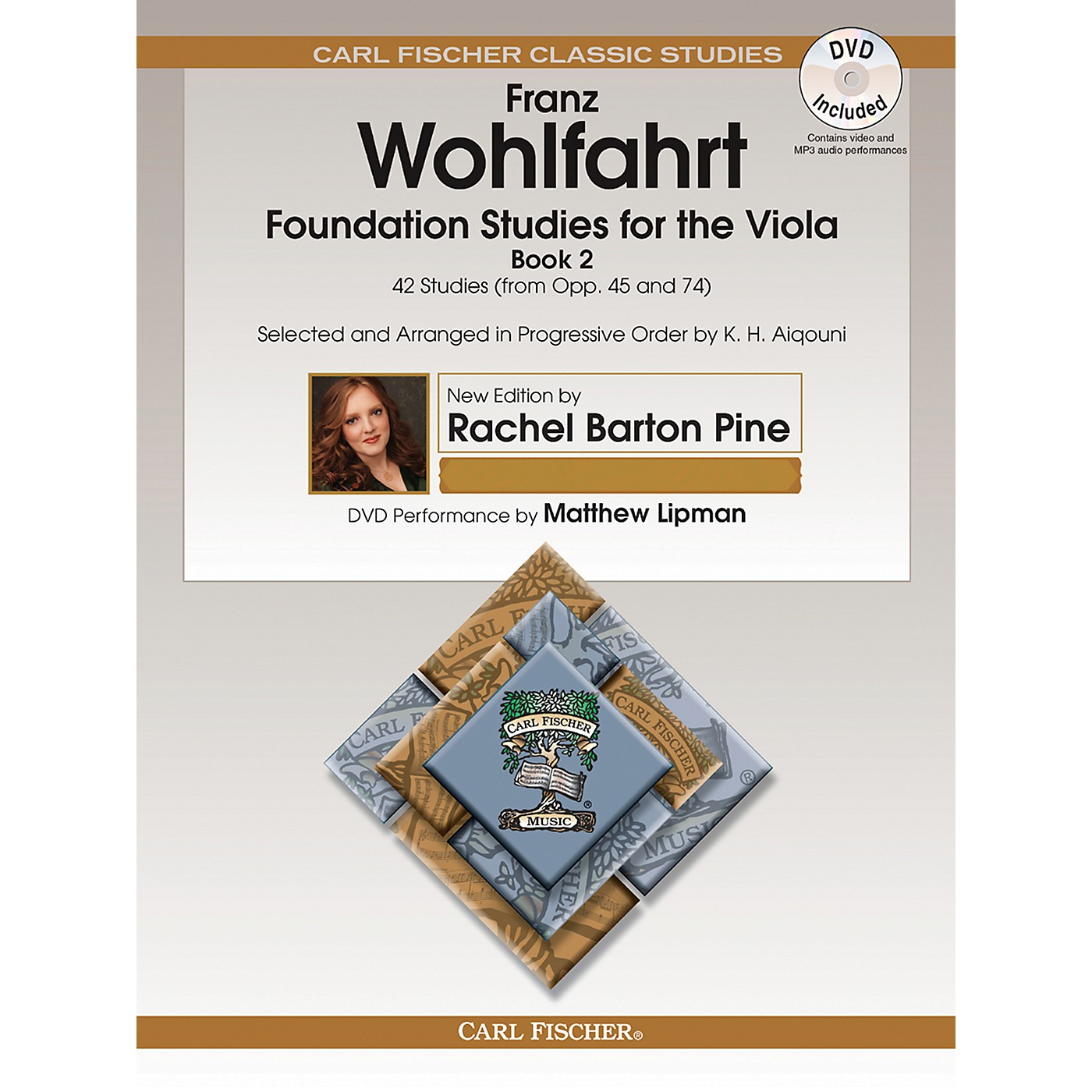 Carl Fischer Foundation Studies for the Viola - Book 2 (from Opp. 45 and 74) Book/DVD thumbnail