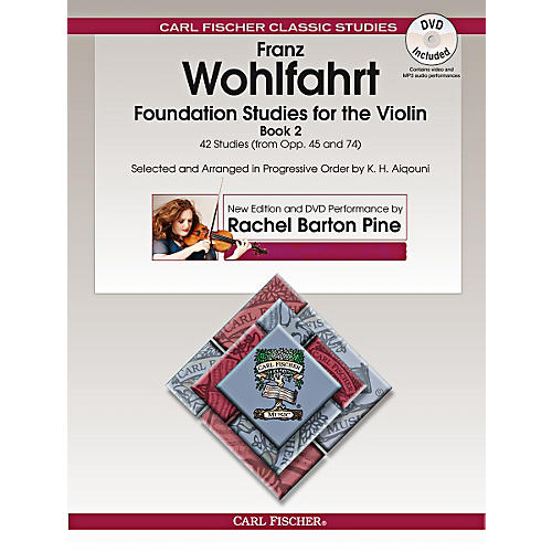 Carl Fischer Foundation Studies for the Violin, Book 2 (Book + DVD) thumbnail