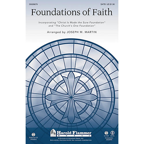 Shawnee Press Foundations of Faith SATB arranged by Joseph M. Martin thumbnail