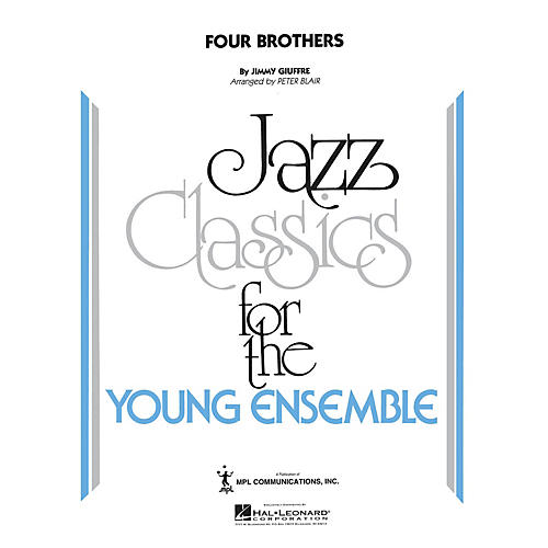 Hal Leonard Four Brothers Jazz Band Level 5 by The Woody Herman Orchestra Arranged by Peter Blair thumbnail