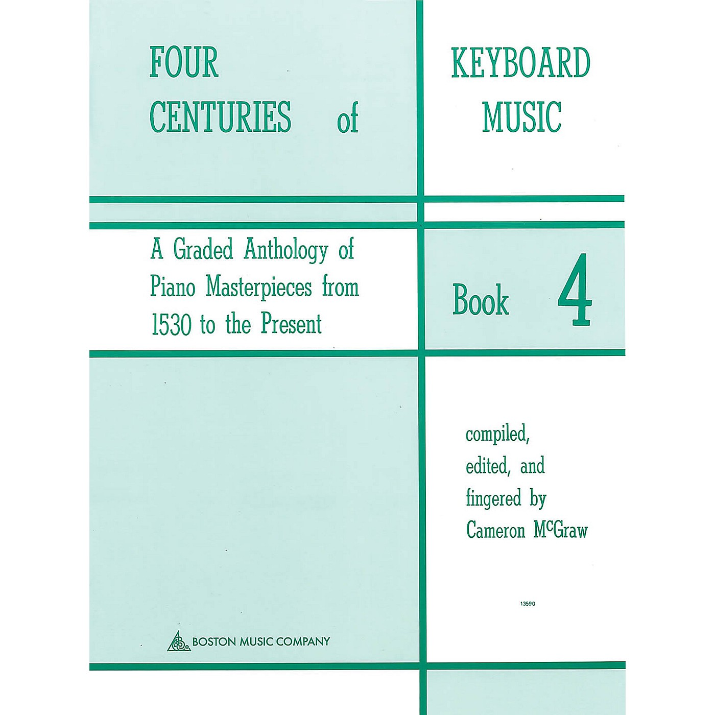 Music Sales Four Centuries Of Keyboard Music Book 4 Music Sales America Series thumbnail