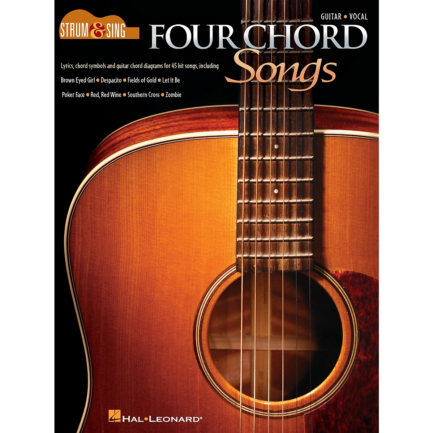 Cherry Lane Four Chord Songs - Strum and Sing Series Songbook thumbnail