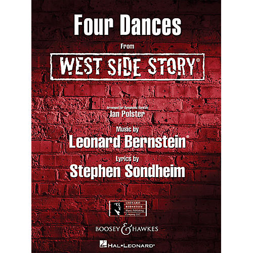 Hal Leonard Four Dances from West Side Story Concert Band Level 4-5 Arranged by Ian Polster thumbnail