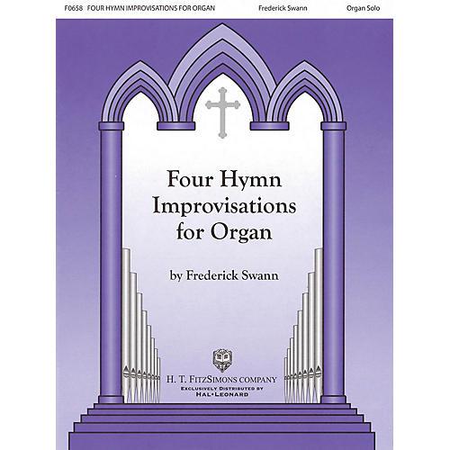H.T. FitzSimons Company Four Hymn Improvisations for Organ - Volume I (Organ Solo) thumbnail
