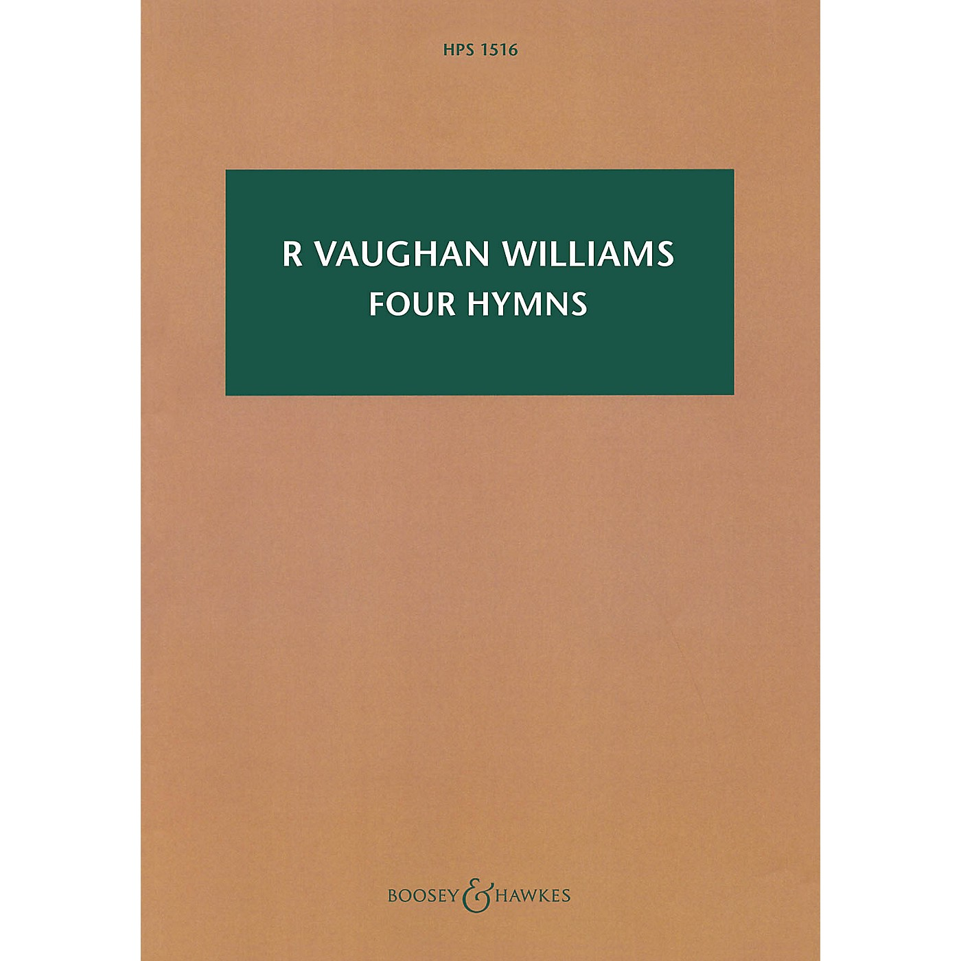 Boosey and Hawkes Four Hymns Boosey & Hawkes Scores/Books Series Softcover Composed by Ralph Vaughan Williams thumbnail