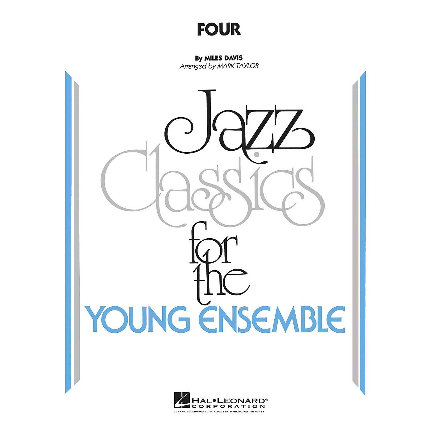Hal Leonard Four Jazz Band Level 3 Arranged by Mark Taylor thumbnail