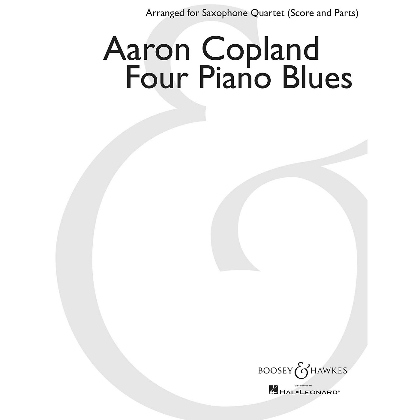 Boosey and Hawkes Four Piano Blues Boosey & Hawkes Chamber Music Book  by Aaron Copland Arranged by Paul Cohen thumbnail