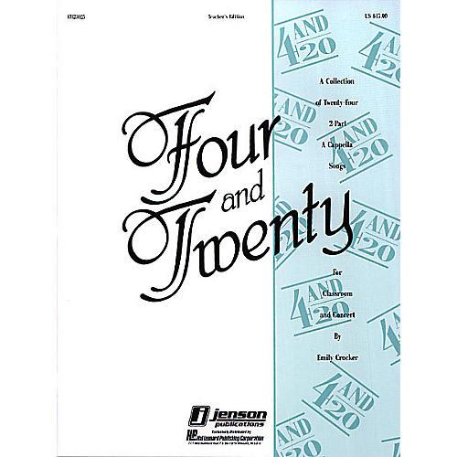 Hal Leonard Four and Twenty TEACHER ED Composed by Emily Crocker thumbnail