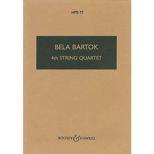 Boosey and Hawkes Fourth String Quartet (1928) Boosey & Hawkes Scores/Books Series Softcover Composed by Béla Bartók thumbnail