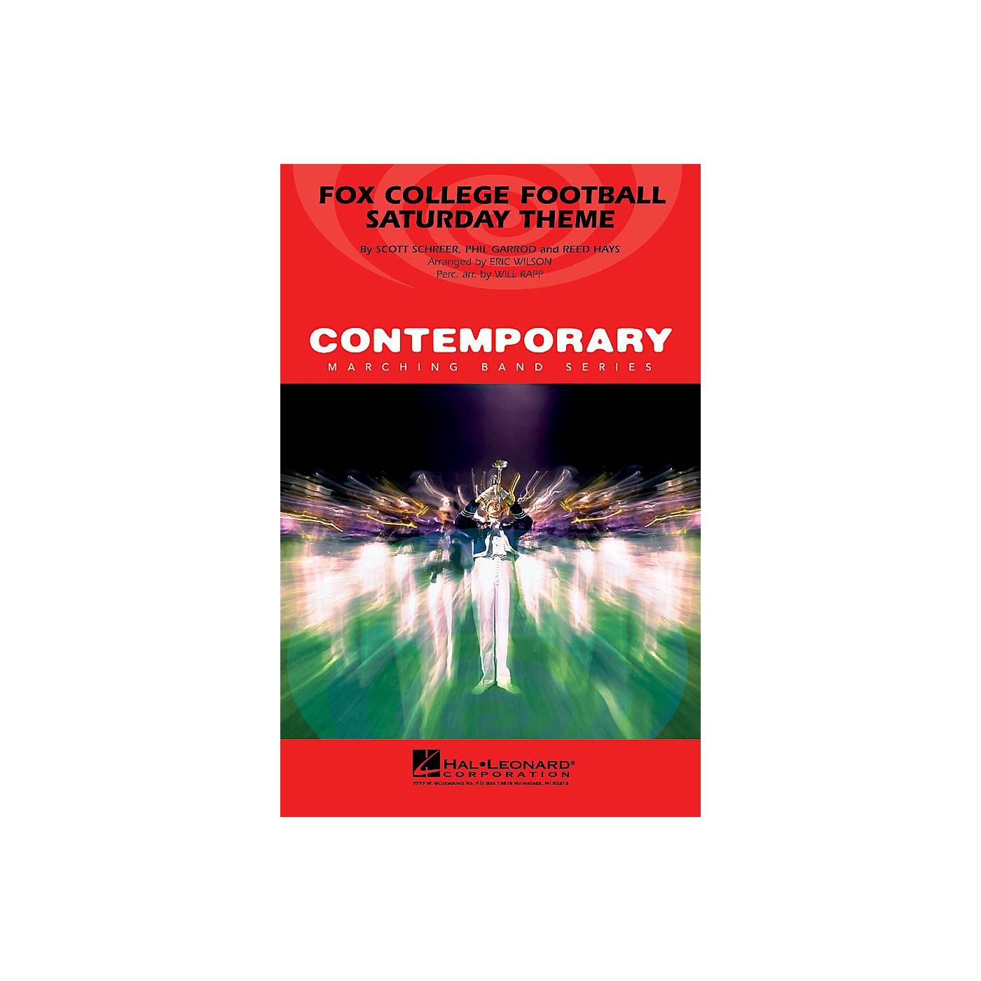 Hal Leonard Fox College Football Saturday Theme Marching Band Level 3 Arranged by Eric Wilson thumbnail