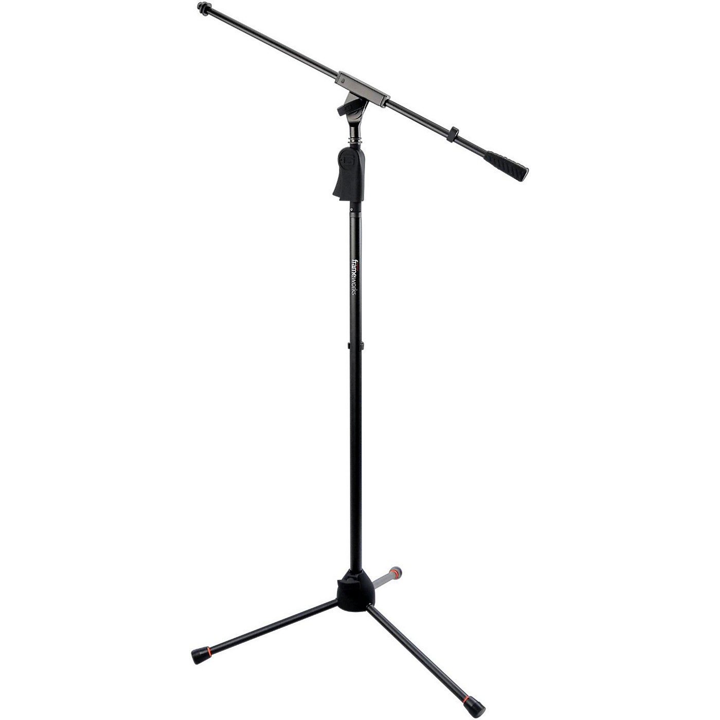Gator Frameworks GFW-MIC-2110 Deluxe Tripod Mic Stand with Single Section Boom thumbnail