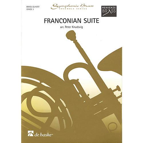 De Haske Music Franconian Suite (Brass Quintet Grade 3) De Haske Ensemble Series Arranged by Peter Knudsvig thumbnail