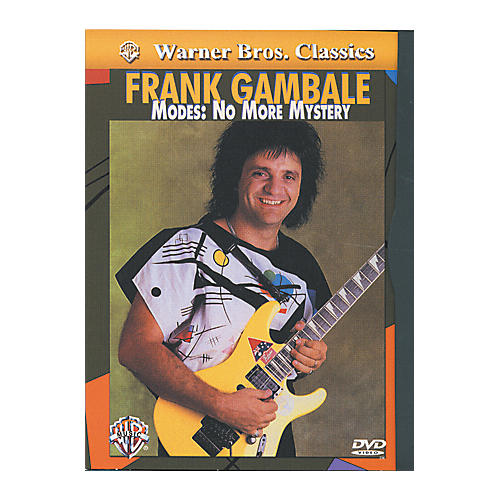 Alfred Frank Gambale - Modes No More Mystery DVD thumbnail
