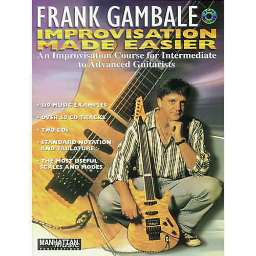 Alfred Frank Gambale Improvisation Made Easy (Book and 2 CDs) thumbnail
