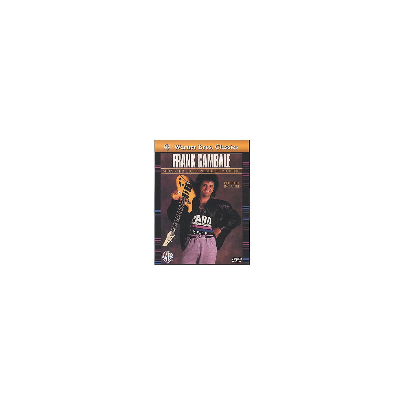 Alfred Frank Gambale Monster Licks & Speed Picking DVD thumbnail