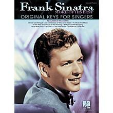 Hal Leonard Frank Sinatra - More Of His Best (Original Keys For Singers)