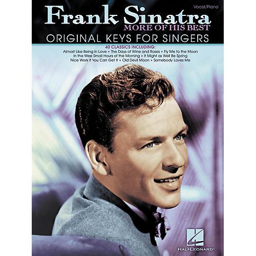 Hal Leonard Frank Sinatra - More Of His Best (Original Keys For Singers)-thumbnail