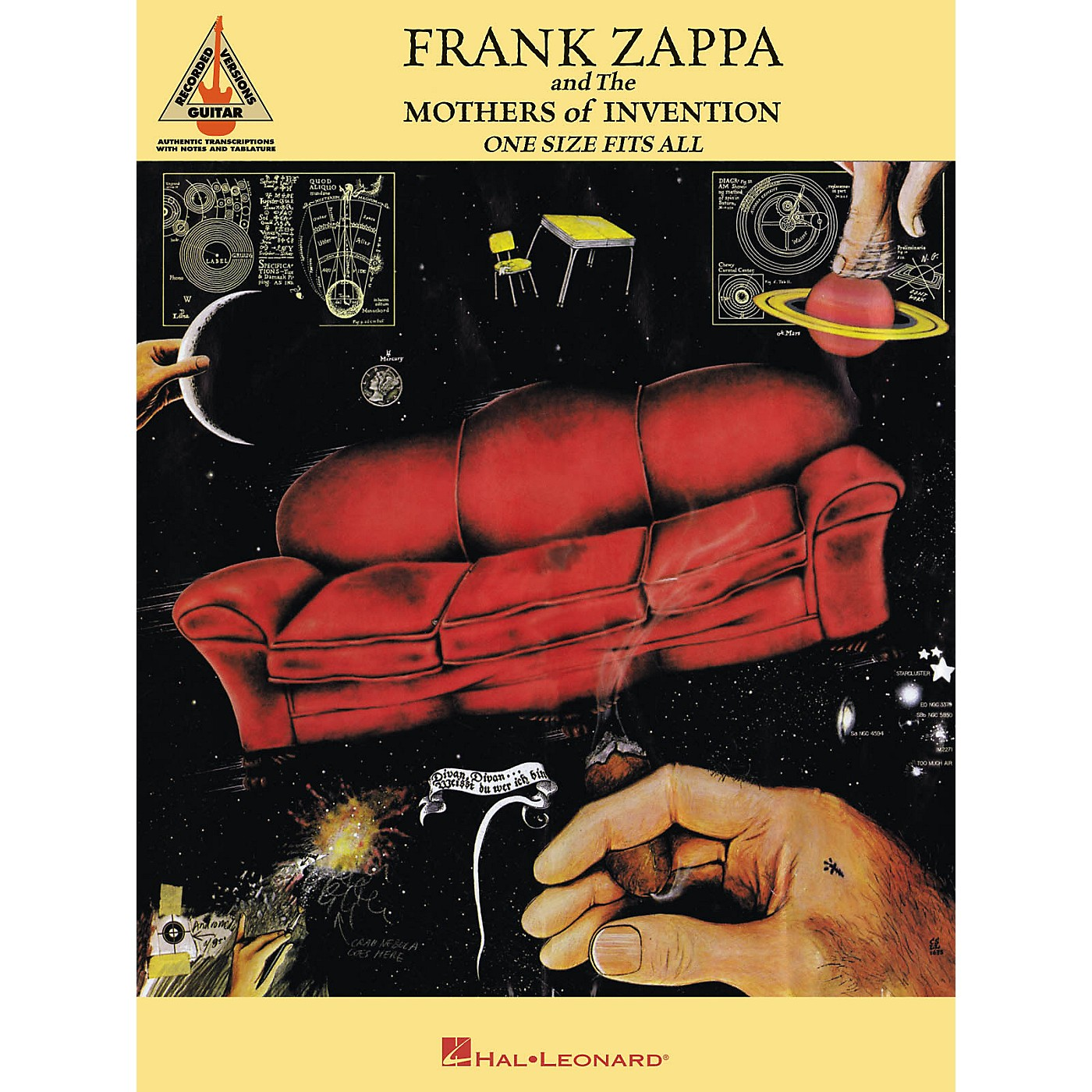 Hal Leonard Frank Zappa One Size Fits All thumbnail