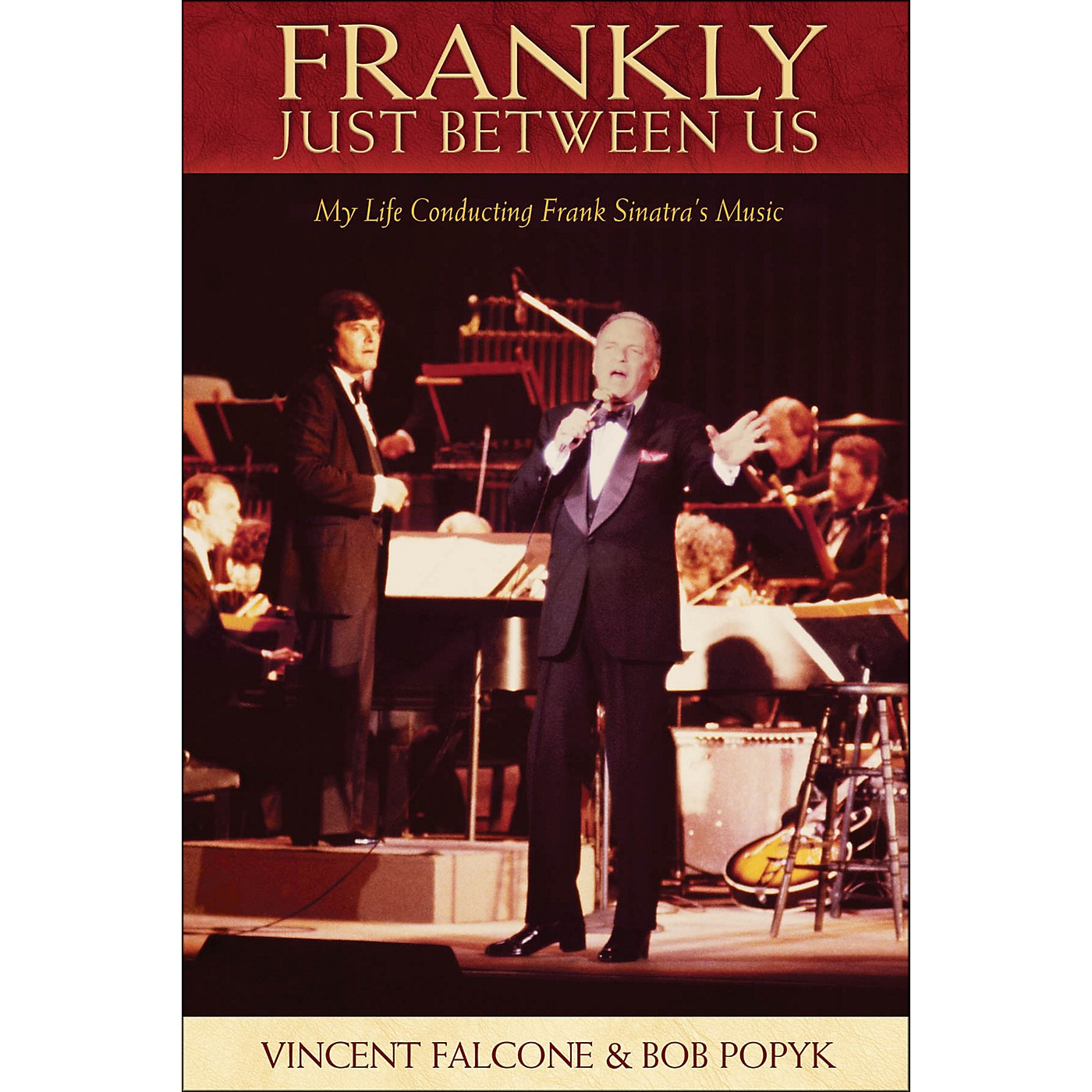Hal Leonard Frankly - Just Between Us: My Life Conducting Frank Sinatra's Music thumbnail