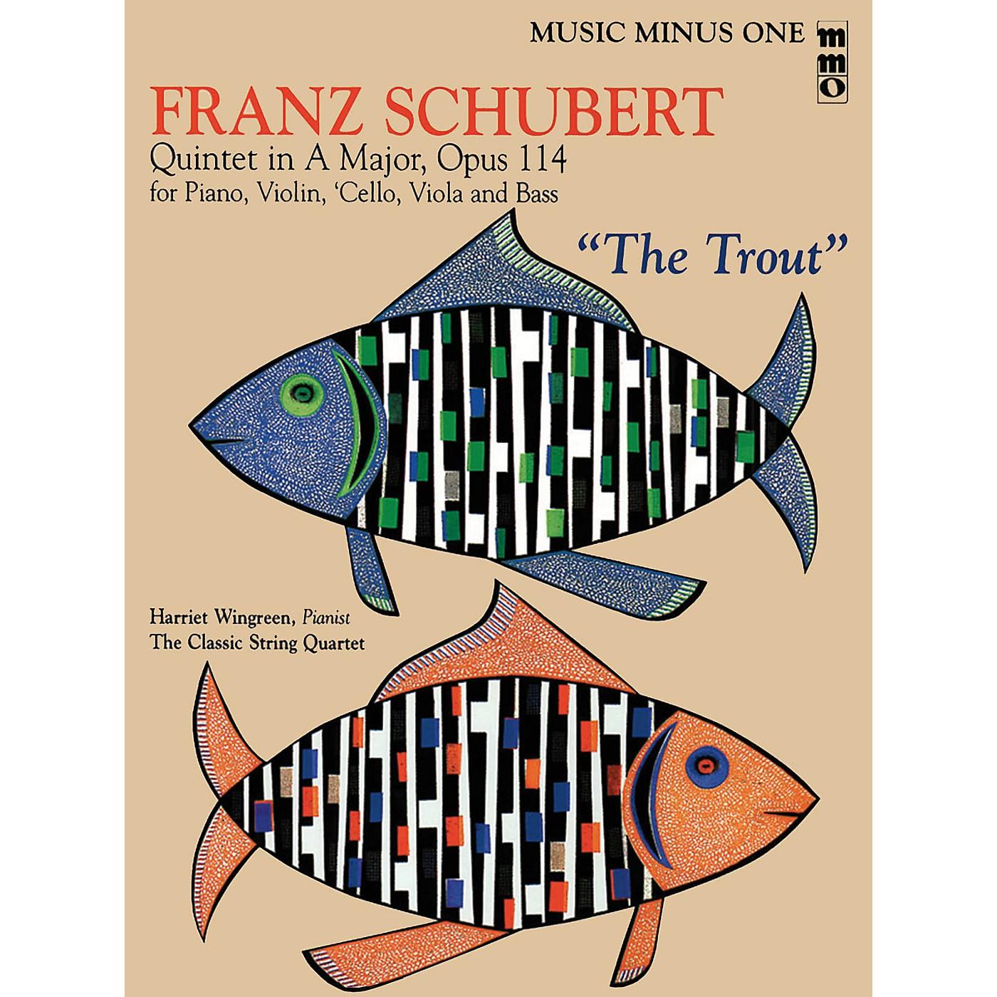 Music Minus One Franz Schubert - Quintet in A Major, Op. 114 or The Trout Music Minus One BK/CD by Franz Schubert thumbnail