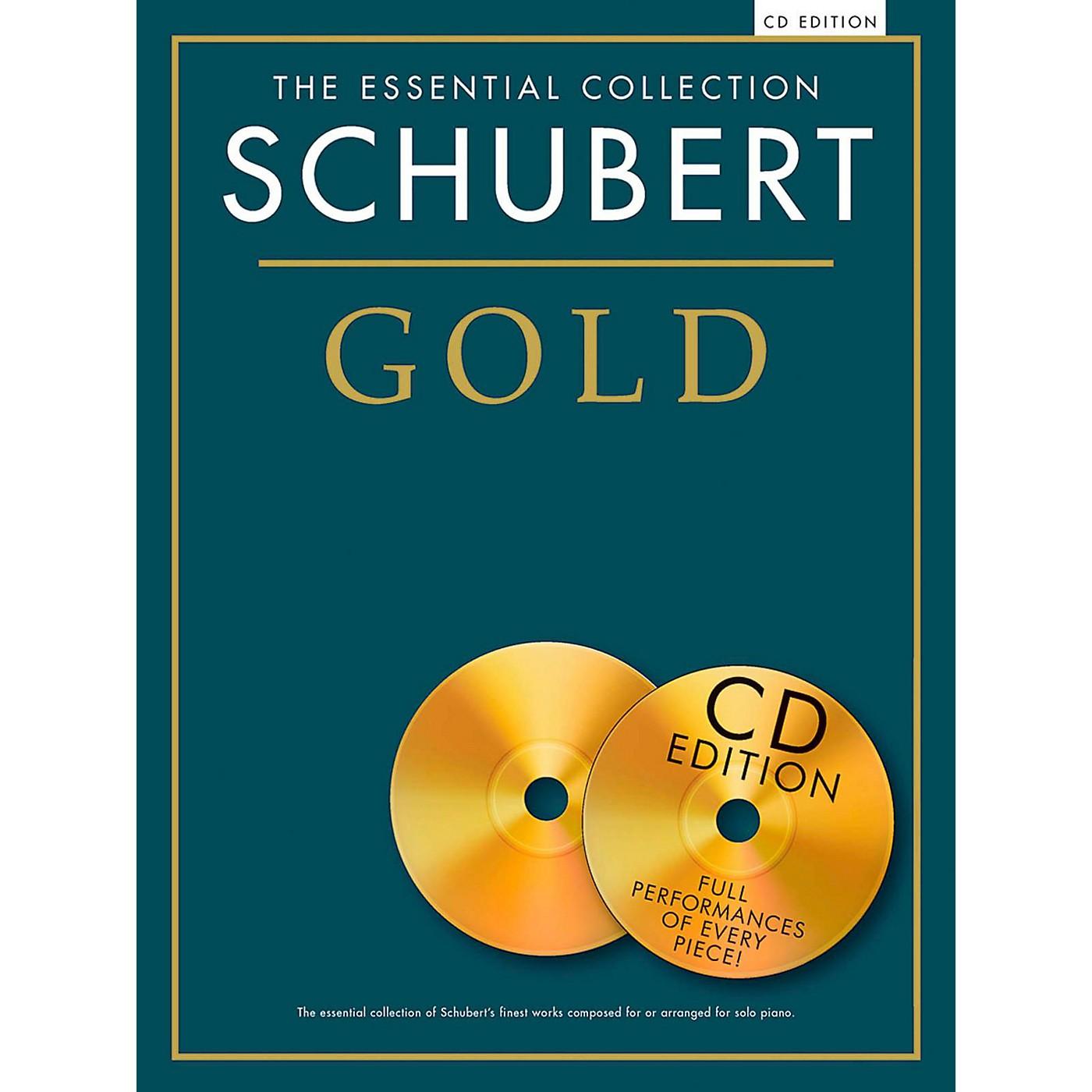 Music Sales Franz Schubert - Schubert Gold The Essential Collection Book/2 CD thumbnail