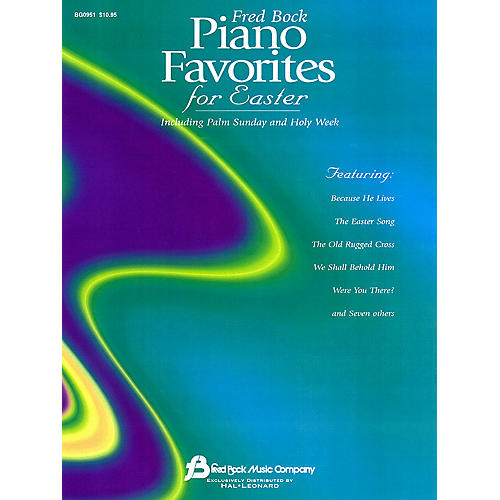 Fred Bock Music Fred Bock Piano Favorites for Easter Fred Bock Publications Series thumbnail
