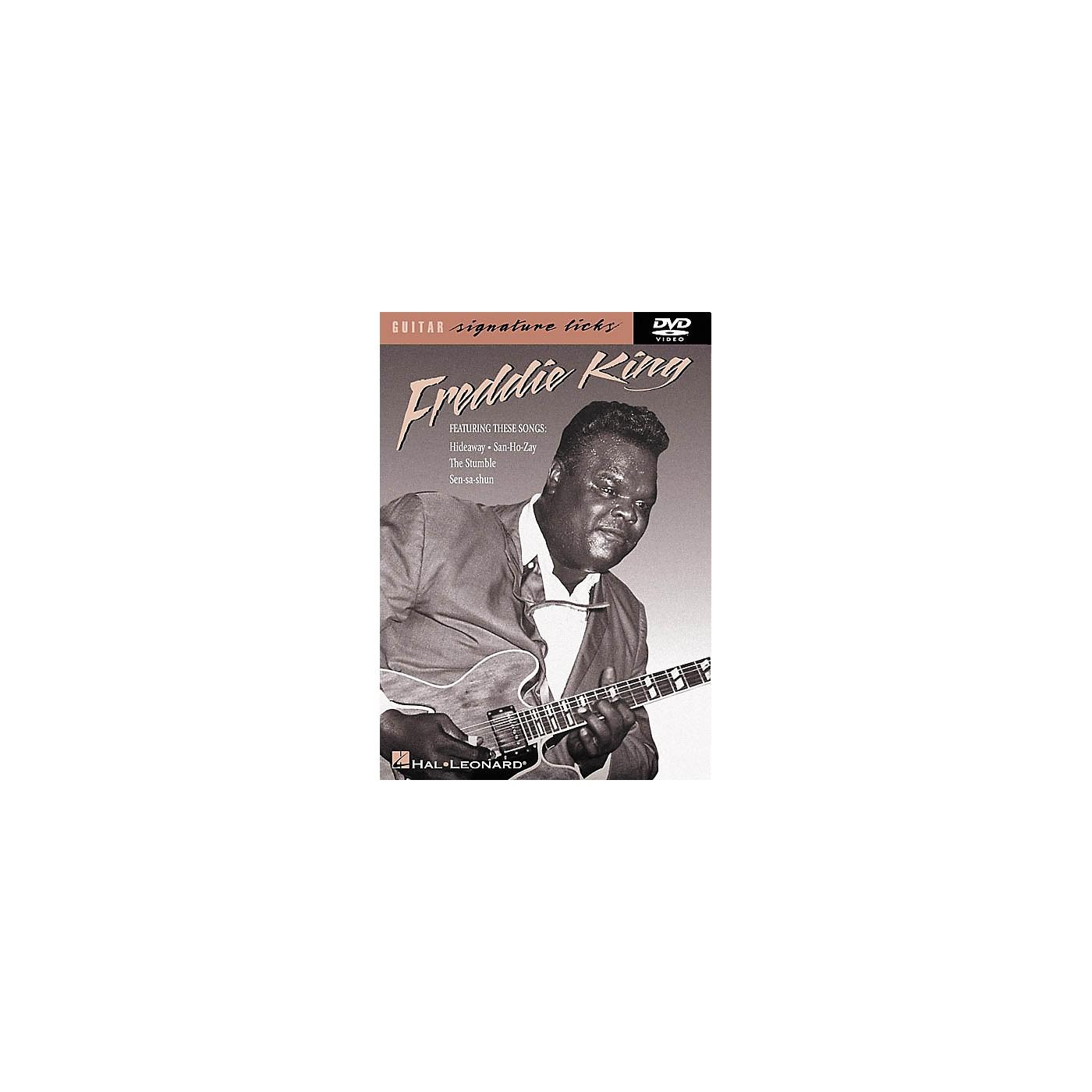 Hal Leonard Freddie King Guitar Signature Licks (DVD) thumbnail