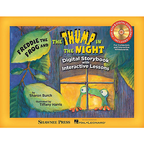 Shawnee Press Freddie the Frog and The Thump in the Night TEACHER/DVD-ROM by Tiffany Harris Composed by Sharon Burch thumbnail